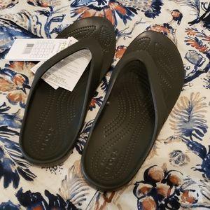 Crocs Kadee II Black Flip-flops